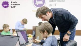 Donatie de echipamente IT pentru copiii din mediul rural