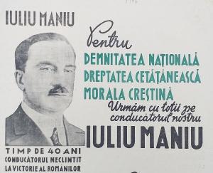 Iuliu Maniu - in memoria unui martir in numele propriei credinte si al dragostei de neam si tara (I)
