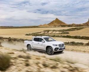 Mercedes-Benz ii tenteaza pe fermieri si constructori cu Clasa X