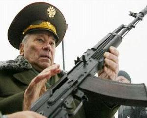 Mihail Kalasnikov a tras ultimul cartus