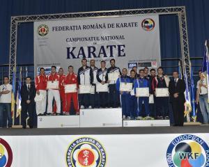 Romania si-a ales campionii la karate