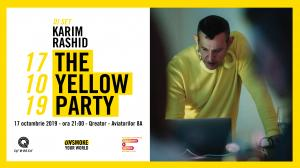 Karim Rashid pune muzica la party-ul Conferintei Globale