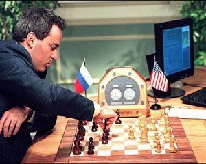 10 februarie 1996: campionul mondial de sah Gary Kasparov pierde prima partida in fata unui computer