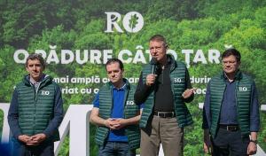 A inceput cea mai mare campanie de impadurire din Romania. Oficialii ne indeamna sa fim frate cu codrul
