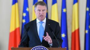 Klaus Iohannis: PSD a picat si ultimul test al responsabilitatii