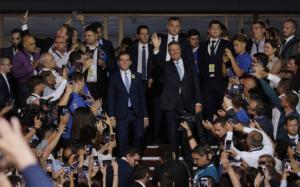 Iohannis si-a lansat candidatura la prezidentiale: Proiectul meu e proiectul unei generatii