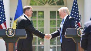 Klaus Iohannis il viziteaza pe Donald Trump, la Casa Alba, la invitatia presedintelui american
