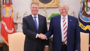 Convorbire telefonica Iohannis-Trump: SUA se alatura Romaniei in lupta impotriva COVID-19