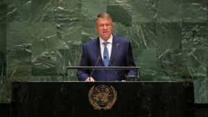 Klaus Iohannis, la ONU: Puteti conta pe Romania!