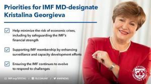 FMI are primul sef provenit dintr-o economie emergenta: bulgaroaica Kristalina Georgieva