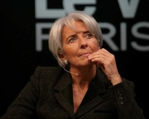 Lagarde prevede ca redresarea economiei mondiale va calca acceleratia