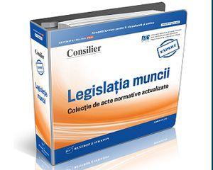 8 acte normative ce reglementeaza modificarea contractelor individuale de munca