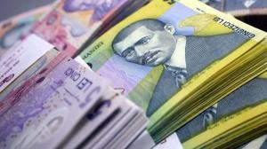 ROBOR la 3 luni creste la 3,37%, dar leul se apreciaza fata de euro