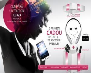LG Electronics (LG) anunta o noua campanie promotionala pentru  LG G3