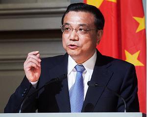 Premierul Chinei la Bucuresti: Vrem sa vedem o moneda euro puternica