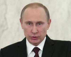 Liderul rus, Vladimir Putin: Ianukovici este presedintele legitim al Ucrainei