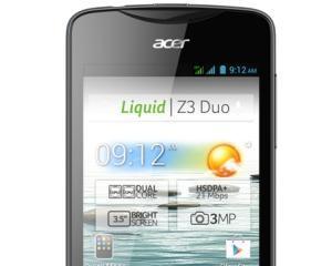 Liquid Z3 Duo si Liquid E2 Duo, noile dual-SIM-uri de la Cosmote