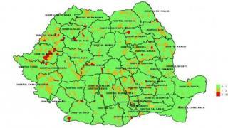 Lista incidentei cazurilor de COVID-19 pentru fiecare localitate din Romania