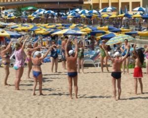 Record de turisti pe litoralul romanesc si pe Valea Prahovei