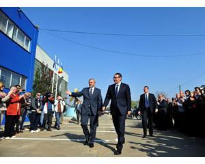 Dragnea, in vizita la Giurgiu, pentru lansarea la apa a patru nave multifunctionale