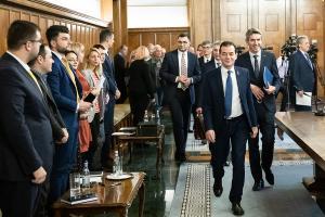 Ludovic Orban se intalneste la Bruxelles cu lideri europeni si ai NATO