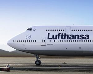 Din cauza grevei angajatilor, Lufthansa a anulat sute de zboruri
