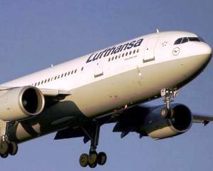 Lufthansa: Vom evita Ucraina. Avioanele vor survola Romania