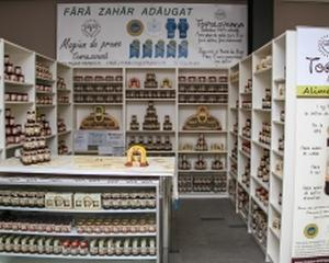 Producatorul Magiunului de prune Topoloveni si-a deschis primul magazin