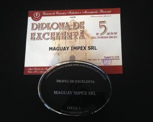 Maguay, premiat de CCIR