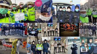 Weekendul de Florii este vegheat de 20.000 de politisti, jandarmi, pompieri, politisti de frontiera si piloti MAI
