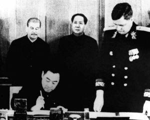 15 februarie 1950: URSS si R.P.Chineza semneaza tratatul de asistenta militara reciproca