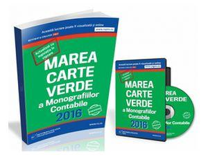 Marea Carte a Monografiilor Contabile 2016, in format tiparit!