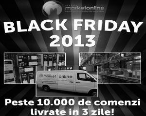 Site-ul care livreaza in trei zile peste 10.000 de comenzi din BLACK FRIDAY
