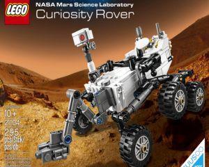 Roverul martian Curiosity a devenit set de jucarii Lego