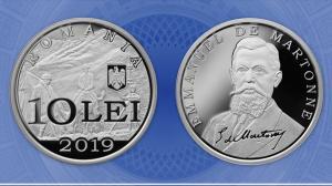 Banca Nationala lanseaza o moneda cu tema Desavarsirea Marii Uniri - Emmanuel de Martonne
