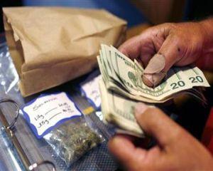 Bancile americane, autorizate sa faca afaceri cu dealerii de marijuana