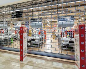 Ce companie a furnizat grilajele metalice pentru Mega Image Concept Store