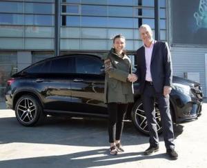 Simona Halep a devenit ambasador Mercedes-Benz in Romania
