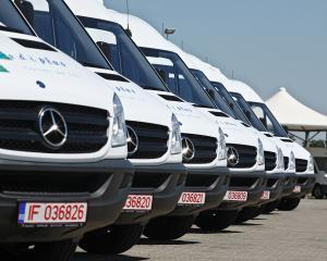 Mediplus a cumparat 145 de Mercedes-Benz Sprinter