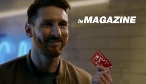 Lionel Messi, vedeta celei mai noi reclame BT