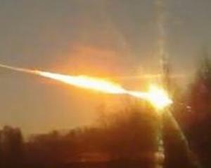 O bucata uriasa din meteoritul