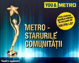 Daca ai afacerea ta si iti sustii comunitatea, inscrie-te in competitia METRO - Starurile Comunitatii si poti castiga premiul de 200.000 de lei!