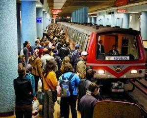 Metrou nou, trenuri vechi