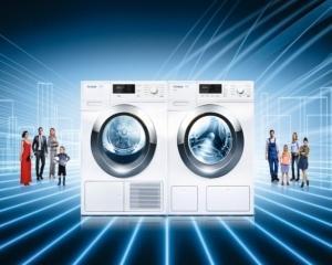 Miele a investit o suta de milioane de euro in noua generatie de masini de spalat inteligente