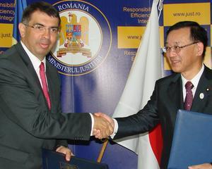Ministrul justitiei s-a intalnit cu omologul sau nipon