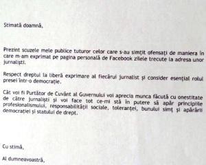 Mirel Palada isi cere scuze celor care s-au simtit ofensati