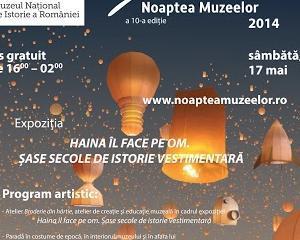 Muzeul National de Istorie a Romaniei celebreaza Noaptea Europeana a Muzeelor