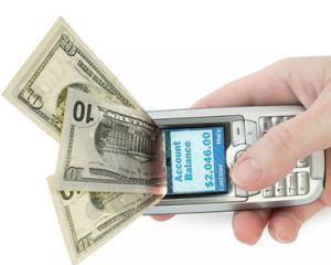 Romanii fac tot mai multe tranzactii prin SMS