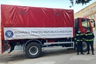 Romania a mai trimis Republicii Moldova 50.400 de doze de vaccin produs de compania AstraZeneca