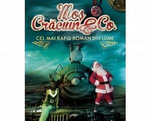 """""""Mos Craciun si prietenii"""", cel mai rapid roman din lume"""